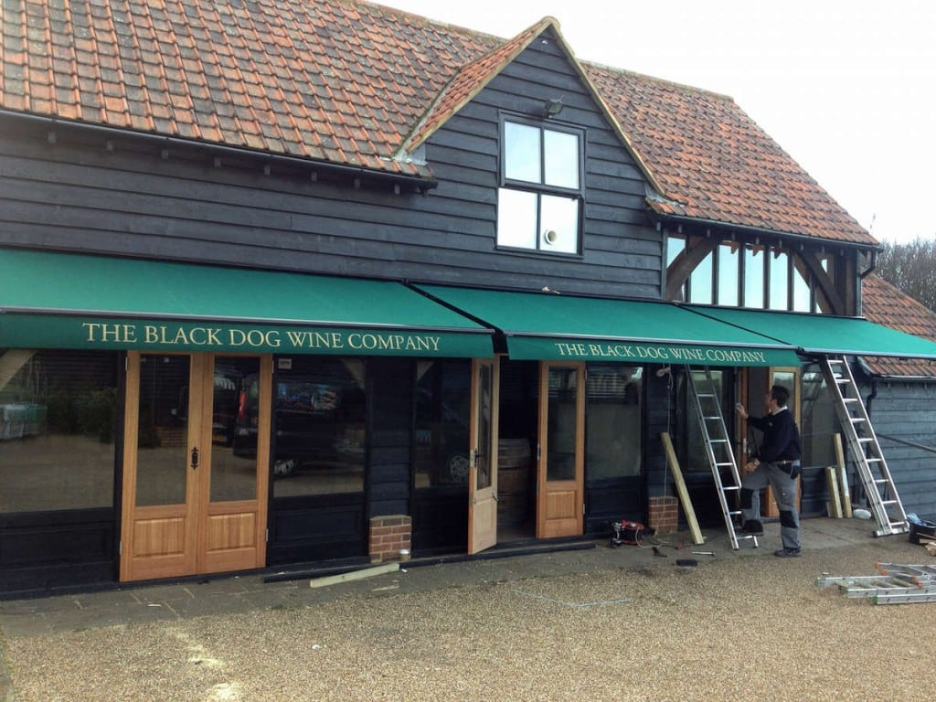 Commercial Awning – Ashlyns Farm