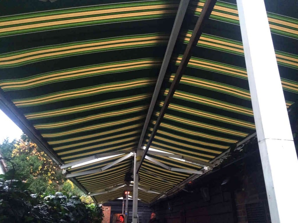Butterfly Awning – Coach and Horses