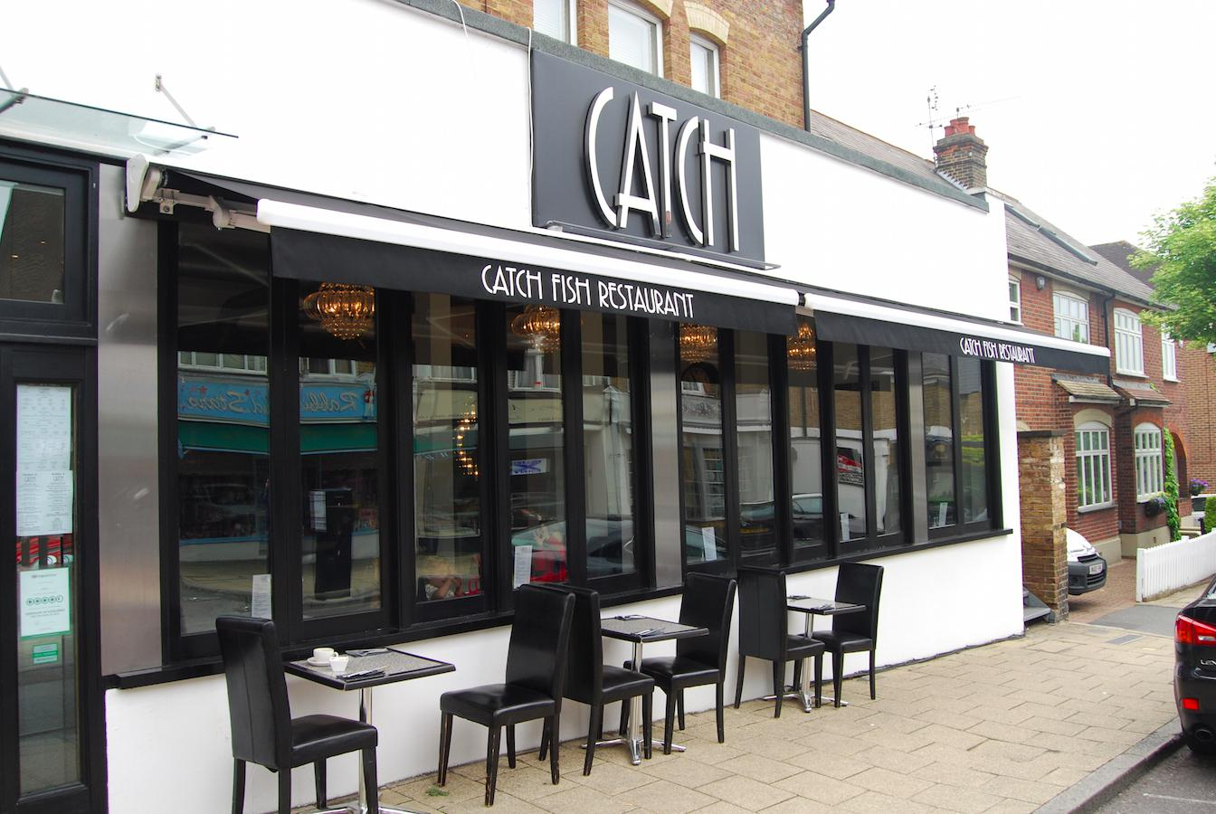 Commercial Awning – Catch Restaurant