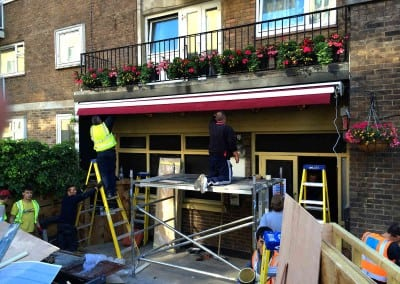 Awning – The Belgravia Arms