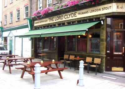 Awnings – The Lord Clyde