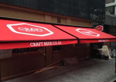 victorian awning - craft beer