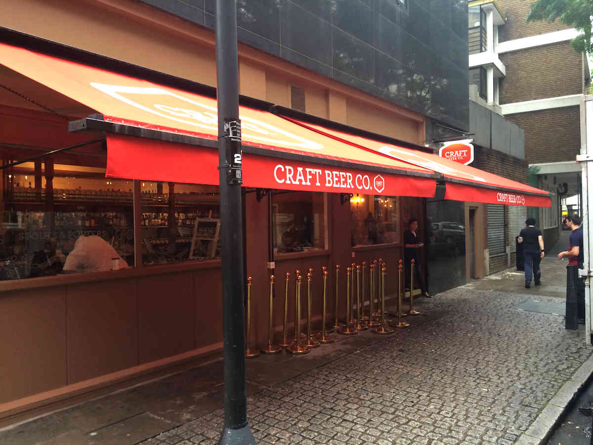 craft beer holborn awnings craft holborn alfresco 1414