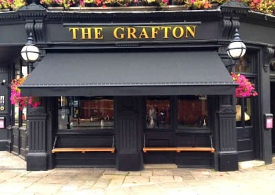 Victorian Awning – The Grafton – London