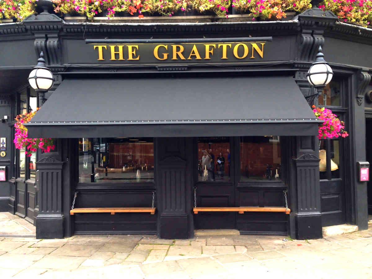 Victorian Awning The Grafton London Alfresco Solutions Europe Ltd