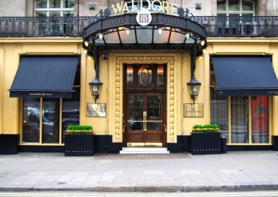 Victorian Awnings London – Waldorf Hotel