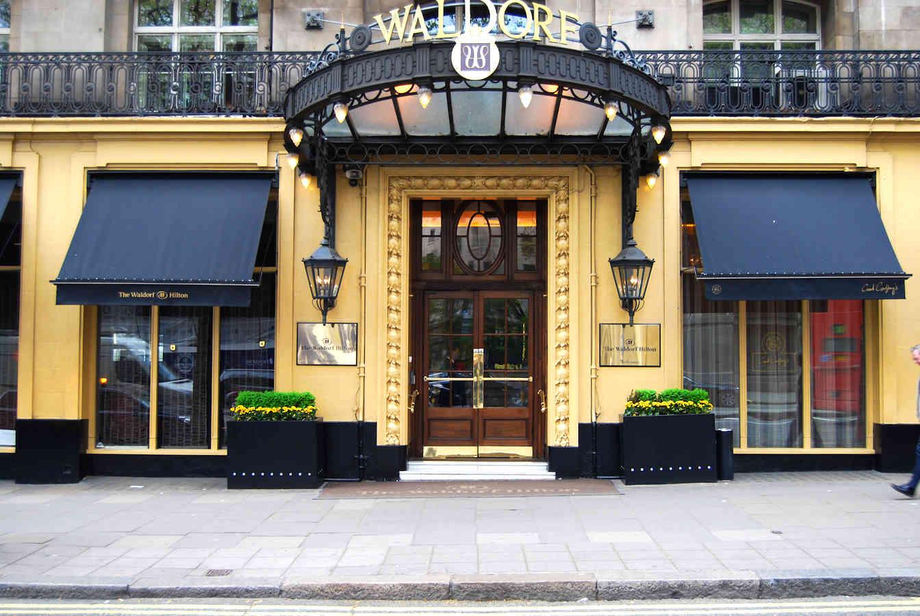 Victorian Awnings London – Waldorf Hotel