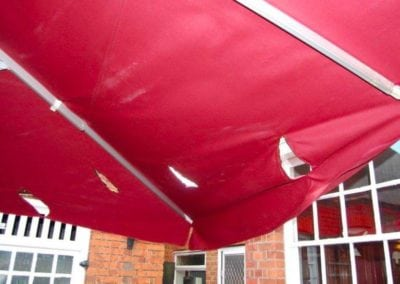 Giant Umbrella Repairs 6