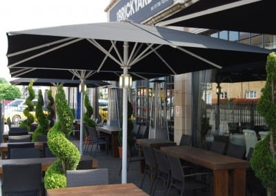 Commercial Parasols – The Brickyard – Essex