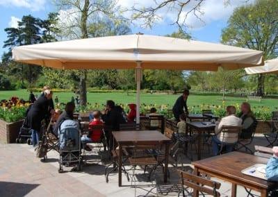 Commercial Parasols Woking – Royal Horticultural Society