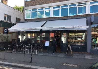 Retractable awning - chiswick