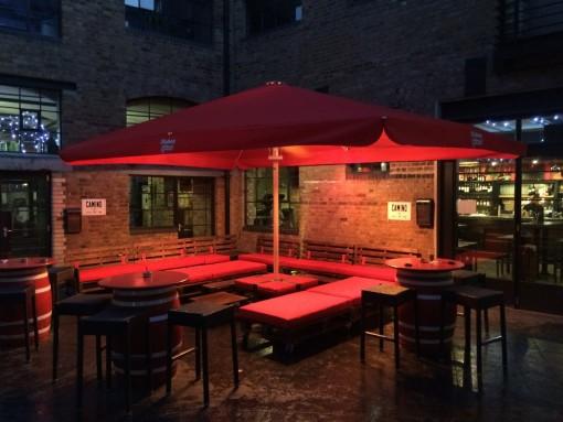 Restaurant Parasol Camino Kings Cross London