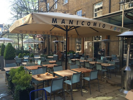 Commercial Parasol Chelsea London Manacomio Restaurant