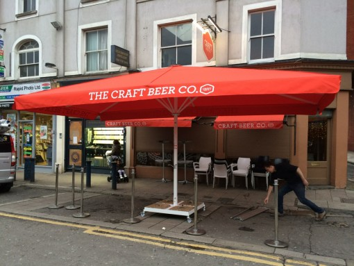 Giant Umbrella Craft Beer Brixton London