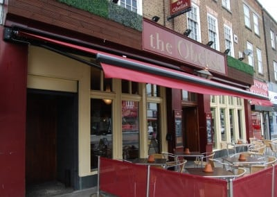 Retractable Awning Obelisk Pub