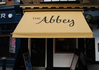 Victorian Awning The Abbey Gloucester
