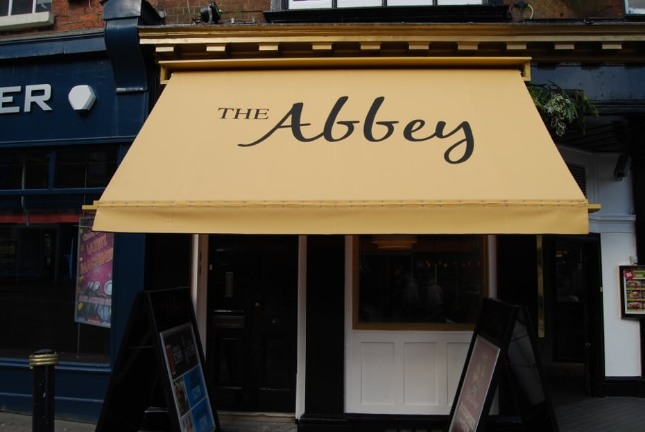 Victorian Awning The Abbey Gloucester | Alfresco Solutions ...