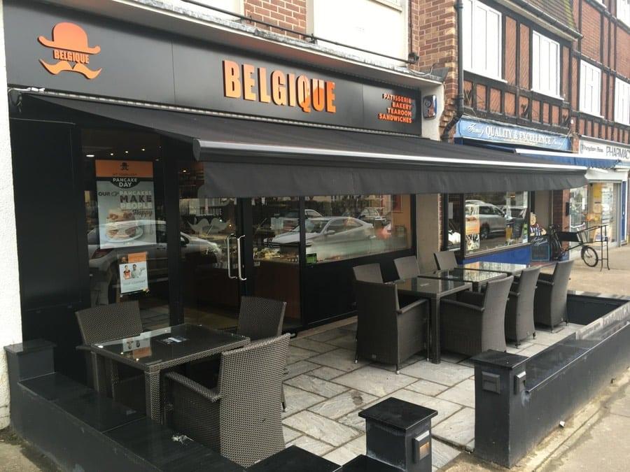 Automatic Cafe Awning London 2