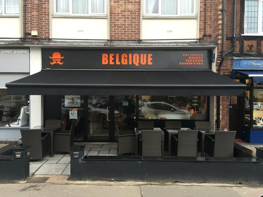 Automatic Cafe Awning London 3