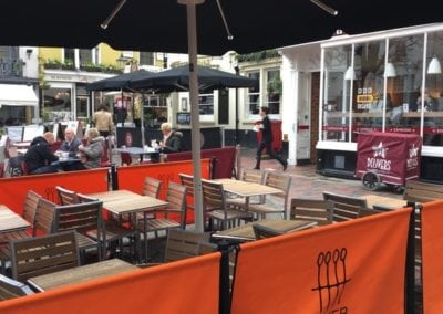 Cafe Parasols Brighton Baker and Spice Cafe 10