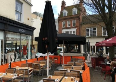 Cafe Parasols Brighton Baker and Spice Cafe 11