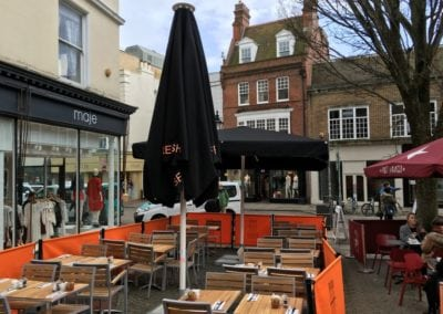 Cafe Parasols Brighton Baker and Spice Cafe 12