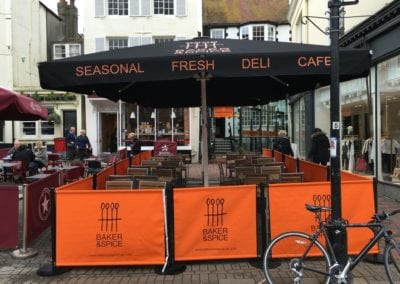 Cafe Parasols Brighton Baker and Spice Cafe 3