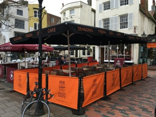 Cafe Parasols Brighton – Baker and Spice