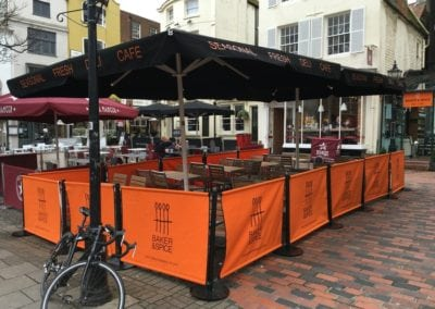 Cafe Parasols Brighton Baker and Spice Cafe 5