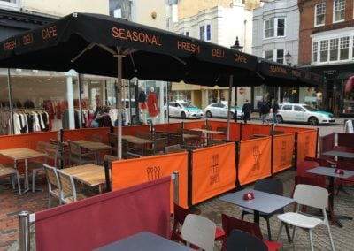 Cafe Parasols Brighton Baker and Spice Cafe 8