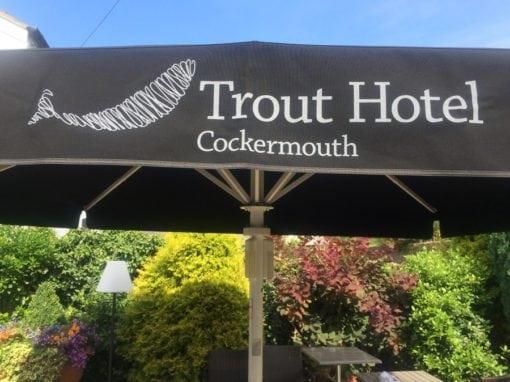 Commercial Parasols Cockermouth Cumbria Trout Hotel