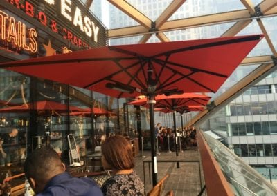 Commercial Parasols Canary Wharf London 3