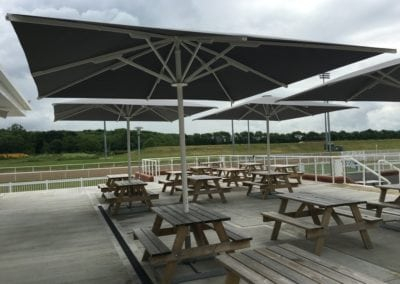 Commercial Parasols Chelmsford Race Course 2