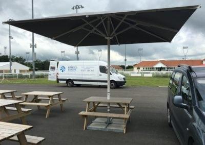 Commercial Parasols Chelmsford Race Course 3