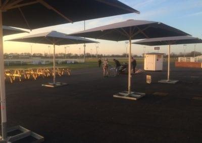 Commercial Parasols Chelmsford Race Course 7