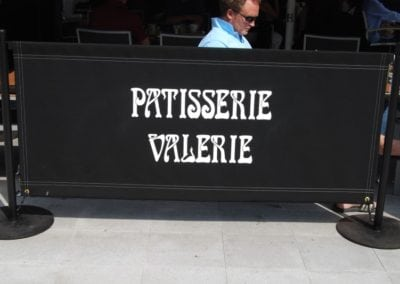 Commercial Parasols Covent Garden London Patisserie Valerie 2