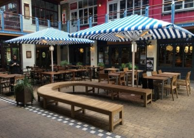 Commercial Parasols Westminster W1 Shaftsbury PLC Kingley Court London 11
