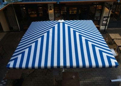 Commercial Parasols Westminster W1 Shaftsbury PLC Kingley Court London 3