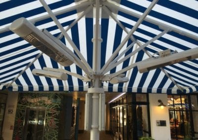 Commercial Parasols Westminster W1 Shaftsbury PLC Kingley Court London 4