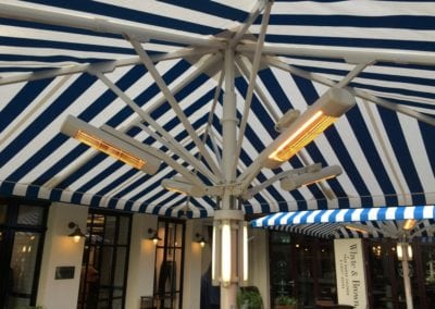 Commercial Parasols Westminster W1 Shaftsbury PLC Kingley Court London 9