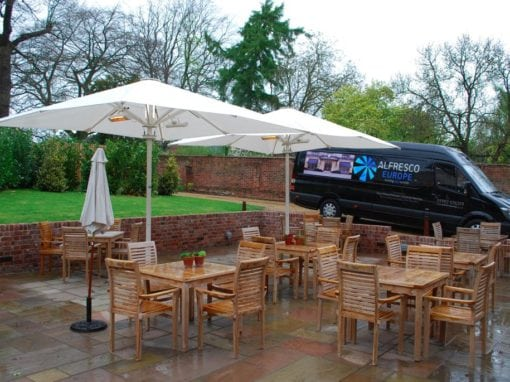 Parasols for Hotels Suffolk – The Northgate Hotel Restaurant Bury St Edmunds