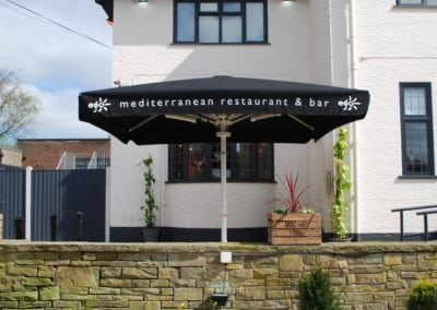 Parasols for Pubs - Ego at The Old Ashfield Pub Nottingham 5
