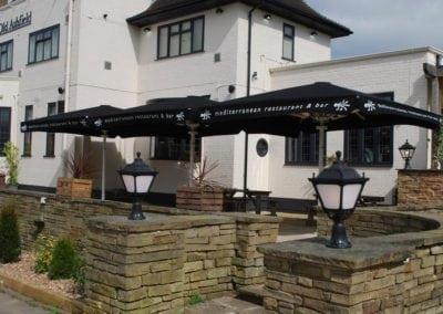 Parasols for Pubs - Ego at The Old Ashfield Pub Nottingham 7
