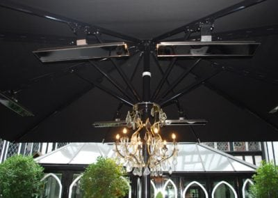 Giant Umbrellas for Restaurants - Sheesh Chigwell 6