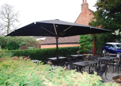 Giant Umbrellas for Restaurants - Sheesh Chigwell 7