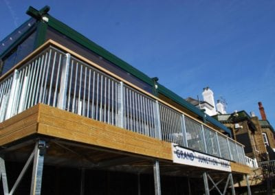 Retractable Enclosure for Youngs Brewery Pub The Grand Junction 2