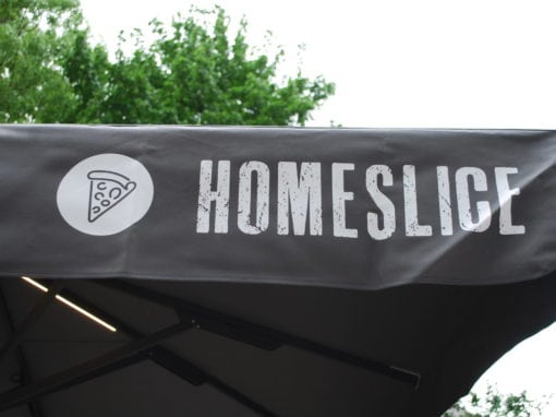 Homeslice Bespoke Umbrellas