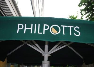 Phillpots 2.5 M Square Parasols (9)