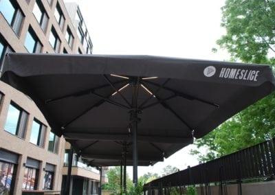 3.5 Metre Square Umbrellas 11