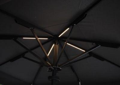3.5 Metre Square Umbrellas 5